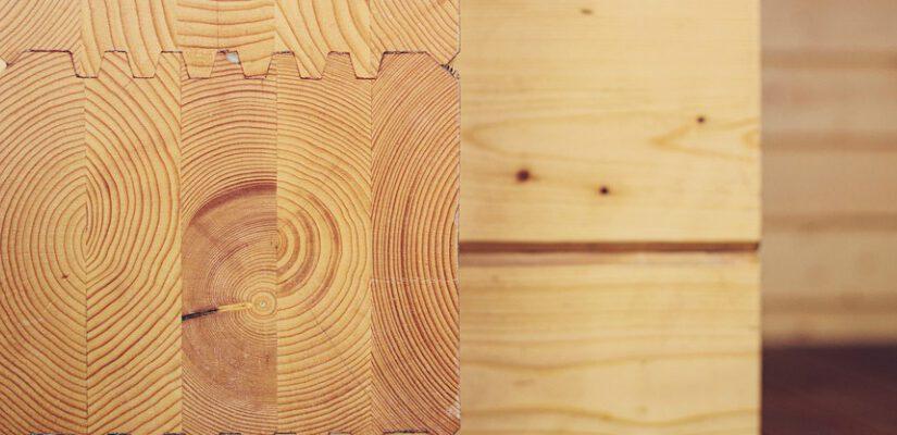 על קורות עץ דו שכבתי ועץ גושני
