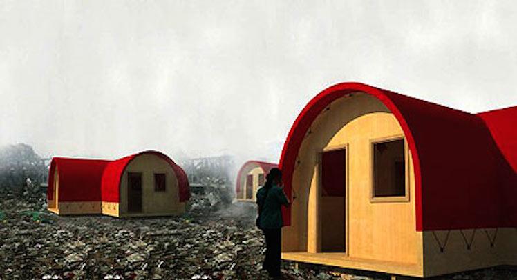 Red Housing – ארכיטקטורה שנועדה לדיור זמני במצב קיצוני ובתנאים קיצוניים.