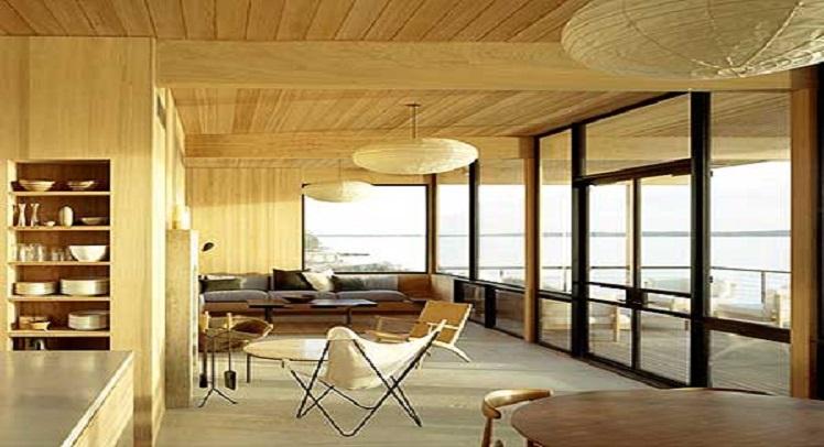 בניה בעץ – בית הקיץ של האדריכל קרי טמרקין