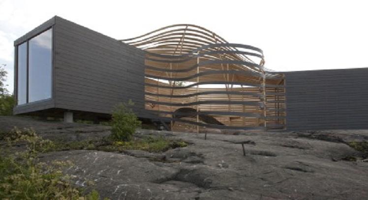 מלון עיצוב מעץ של WISA