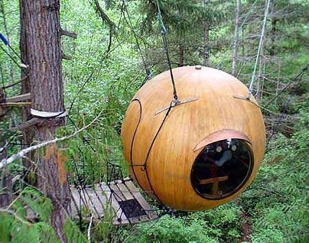 בניה בעץ, בית עץ